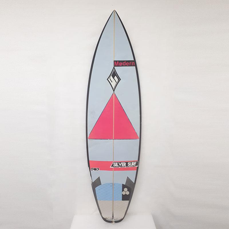 64dc12e40 Prancha De Surf Silver Surf Surfboards – 5´9″ – Mercadão do Surf