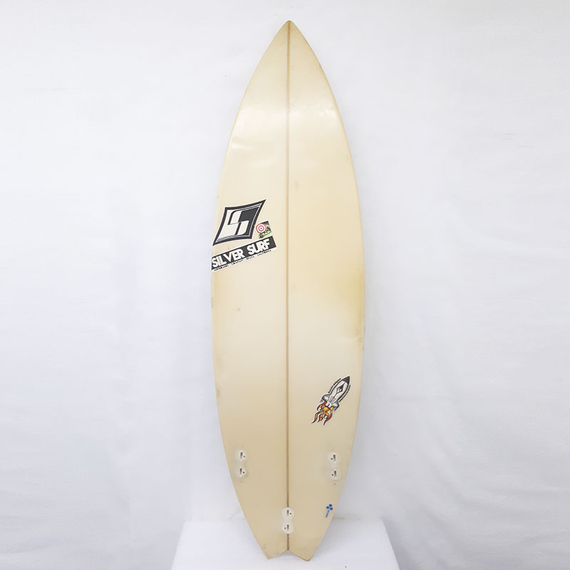 881510b04 Prancha De Surf Silver Surf Surfboards – 5'11 – Mercadão do Surf
