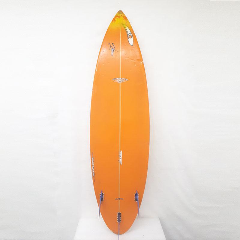 "3ce7026ee Prancha De Surf Tropical Brasil Surfboards – 5 11"" – Mercadão do Surf"